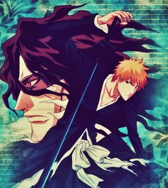 Zanpakuto Spirit Zangetsu & Ichigo Kurosaki - Bleach,Anime