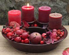 Adventsringe   Töpferei Tecklenburg Candle Holders, Candles, Fruit, House Styles, Winter, Big Wheel, Christmas Ideas, Shopping, Decor