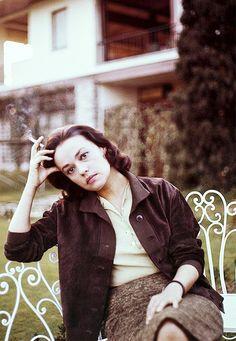 "marthaivers: "" Jeanne Moreau c.1960 """