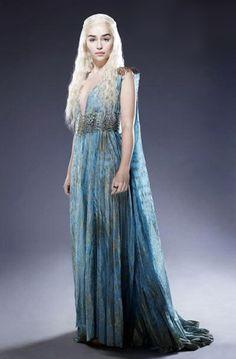 Daenerys Targaryen Blue Dress Daenerys Targaryen Costume   Season Two Dress