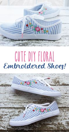 After embroidering my first pair of shoes a few months ago, I knew that I would need to do another pair soon. I decided I needed to bring a little Spring to these cute striped shoes so I stitched up theseDIY Floral Embroidered Shoes! I found these little tennies at Target and I fell in …