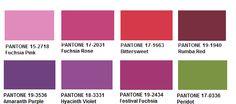 2012 Pantone Back to Fuschia