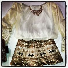 Gorgeous summer party outfit <3