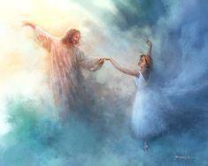 Jesus Painting, Dancing With Jesus, Jesus Pictures, Great Works Of Art, Prophetic Art, Bible Art, Christian Artists, Pictures Of Jesus Christ, Pictures