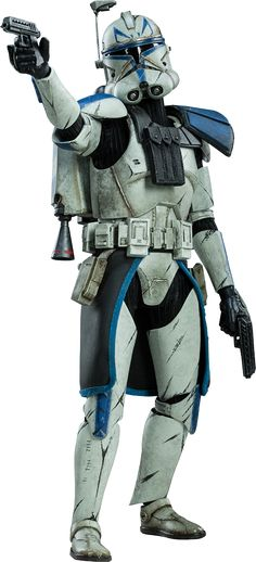 Pre-Order Sideshow Star Wars Captain Rex Phase II Armor Figure - Star Wars Stormtroopers - Ideas of Star Wars Stormtroopers - Pre-Order Sideshow Star Wars Captain Rex Phase II Armor Figure Star Wars Toys, Star Wars Clone Wars, Star Wars Art, Sideshow Star Wars, Figuras Star Wars, Republic Commando, Stormtrooper, Darth Vader, Star Wars Action Figures