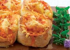 Tasty Spaghetti and Cheese Pinwheels recipe from Food in a Minute