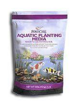 Aquatic Planting Media , 10 # Bag . $10.95. Easy to use planting media for all aquatic plants. It is comprised of a unique blend of natural minerals, including Zeolite which securely holds the plants in its container so that the plants can form a strong rooot system. Zeolite adds the benefit of high nutrients-holding capacity. Does not float, cloud water or clog filters. 10# or 25# bag 10 # Bag.