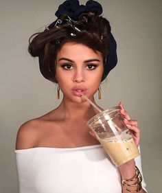 15 celebs who are as obsessed with iced coffee as you are