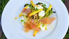 Legg salat på grillen i sommer Barbecue, Sweets, Cooking, Ethnic Recipes, Food, Grilling, Summer Recipes, Bbq, Meal