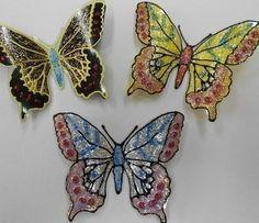How to Make Glitter Butterfly from Plastic Bottles | www.FabArtDIY.com LIKE Us on Facebook ==> https://www.facebook.com/FabArtDIY