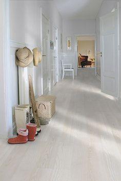 Laminatgolv Pergo Original Excellence Plank, Vit Ask, 1-stav