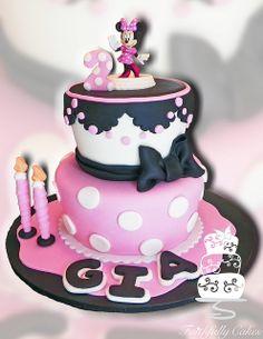 Gia Lopez Minnie Mouse 2nd Birthday