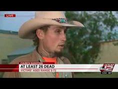 WATCH HERO Johnnie Langendorff chases down Sutherland Springs Shooter!