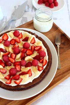 Wicked sweet kitchen: Brownie pizza