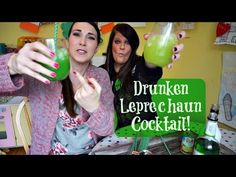 The Drunken Leprechaun | Pinterest Drink #40 | MamaKatTV - YouTube