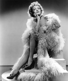German-American actress Marlene Dietrich posing in a feather boa in a promotional portrait for 'Destry Rides Again', directed by George Marshall, Get premium, high resolution news photos at Getty Images Hooray For Hollywood, Golden Age Of Hollywood, Vintage Hollywood, Classic Hollywood, Hollywood Style, Hollywood Icons, Vintage Glam, Vintage Beauty, Marlene Dietrich