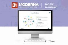Moderna Powerpoint Template - Presentations