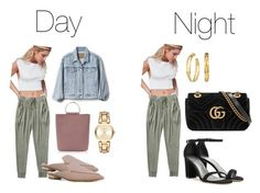 """Day to Night #1"" by alvinaginting on Polyvore featuring Topshop, Silence + Noise, Free People, MICHAEL Michael Kors, Stuart Weitzman, Nicholas Kirkwood, Gucci, Tory Burch and Gap"