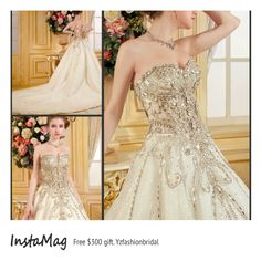 Wedding dresses for the effortlessly chic bride: see the gowns. Shop now! www.yzfashionbridal.com #Beauty #Trusper #Tip