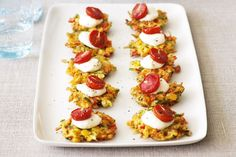 Perfect for just about any celebration, these vegetable fritters will entice and delight guests.