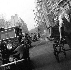 London 1957 and London taxi's. | Flickr - Photo Sharing!