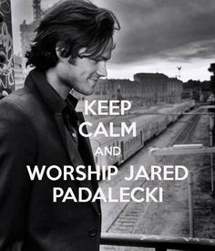 I worship him!!!!