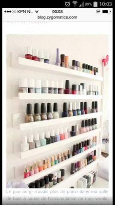 Foto plankjes voor nagellak of make up!