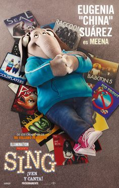 Universal Pictures and Illumination Entertainment has released character posters along with pictures of the cast with their character from the upcoming Sing. Sing Movie 2016, Sing 2016, 2016 Movies, Imdb Movies, Matthew Mcconaughey, Disney Pixar, Disney Films, Illumination Entertainment, Animation Movies