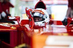 S.Vettel /Ferrari in Fiorano
