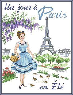 un jour a Paris en été