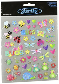 MultiColored StickersBugs In Color -- You can find out more details at the link of the image-affiliate link.