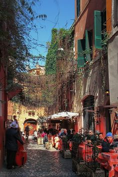 Trastevere, Rome. Trastevere - one of Rome's most charming areas: medieval lanes, restaurants and churches to explore.