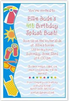 Barbie birthday pool party invitation by blissfulbethdesigns 1100 the fun sassy blog pool party invitations stopboris Choice Image