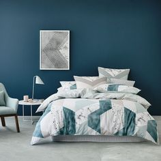 Rebecca Judd Loves Home Republic Nimbus Quilt Cover Set, quilt cover, Rebecca Judd bedlinen