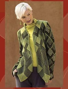 Ravelry: Harlequin Swing Coat pattern by Jane Slicer-Smith