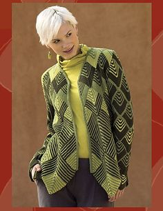 Ravelry: Harlequin Swing Coat pattern by Jane Slicer-Smith