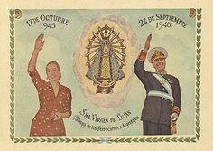 """""""Mundo Peronista"""" en afiches y más (1946 - 1955) - Imág... en Taringa! President Of Argentina, Post War Era, Scenic Design, Latina, Queen, Dani, Social, Grande, Stamps"""