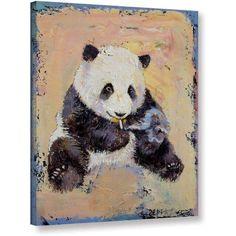Michael Creese Cigarette Break Gallery-wrapped Canvas, Size: 24 x 32, Blue