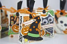 Halloween-Tüten mit dem Set Howl-o-ween Treat von Stampin Up!