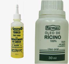 Cabeleira Crespa: Problemas no couro cabeludo? Tônico de Alho + Rícino.