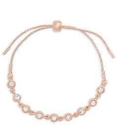 Women's Topshop Crystal Link Bracelet