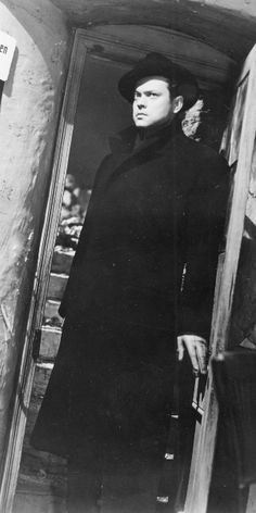 The Third Man. Orson Wells, Joseph Cotten, and the Dutch angle. Love, love, love this movie!