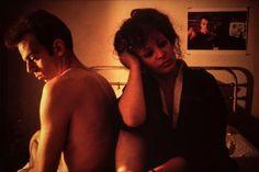 """Self-Portrait in Kimono with Brian, NY"" (1983) Photography Nan Goldin, courtesy of Matthew Marks Gallery"