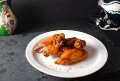 Make a new spin on chicken wings! Saffron Baked Chicken Wings are healthy and delicious. Perfect for any party.