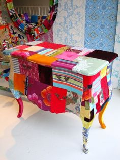 patchwork #painted #furniture / squint  I love to refinish my furniture and this is a definate GOTTA have!!!