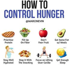 Food for thought.  ・・・ Via @marcinevin ・・・ Let's be honest, hunger is no fun. And while we can't avoid it completely, there are ways to lessen it's effect so you have a better shot of sticking to your fat loss diet. # Of all the macros, protein is the most filling. Not only does it blunt hunger in the short time by making you feel more satisfied, it also helps keep your blood sugar stable so you will feel fuller for longer. # Next to protein, fiber is also very filing. Eating fiber rich…