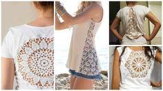 Resultado de imagem para reforma de camisetas femininas