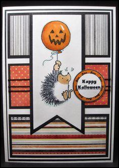 Handmade Halloween Card by MasonJarCards on Etsy, $5.00