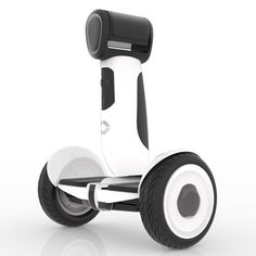 The Ninebot SDK, perhaps the first rideable robot! And it's got the cutest digital face I've ever seen!