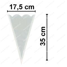 Kornout PP x 35 cm - 50 my - výsek ks/bal) The 100, Triangle